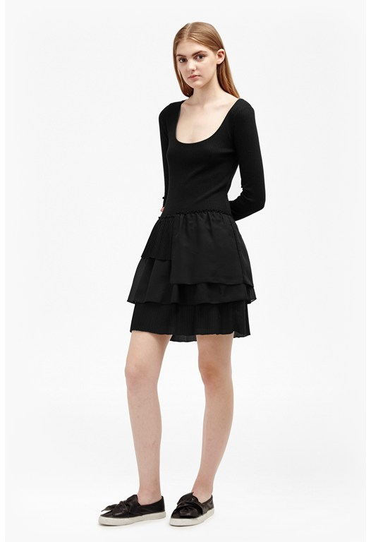 Tommy Rib Layer Dress