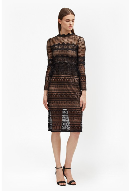 Petra Lace Beau Midi Dress