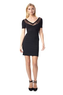 Lace Dani Crepe Dress