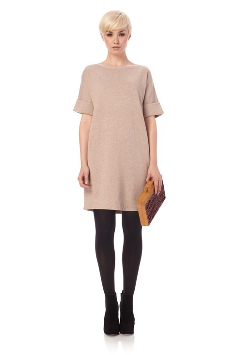 Lucy Knits Boat Neck Dress