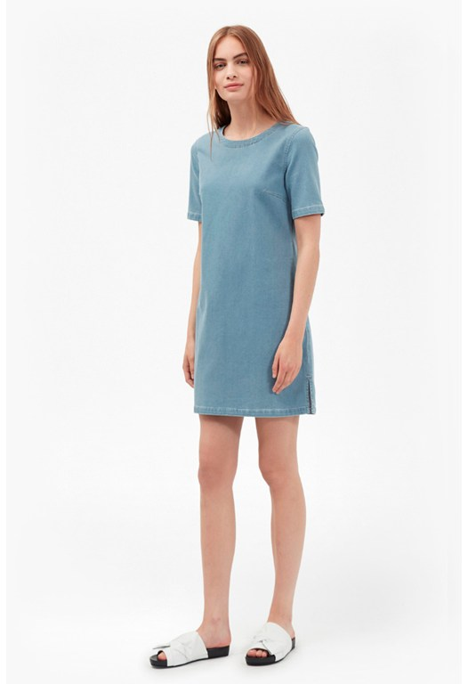 Dina Denim T-Shirt Dress