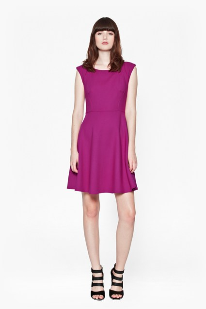 Whisper Light Flared Dress