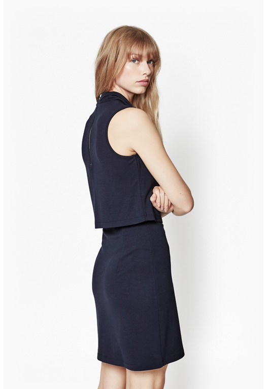 Polka Plains Layer Dress