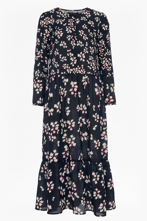 Complete the Look Eva Crepe Oversized Maxi Dress