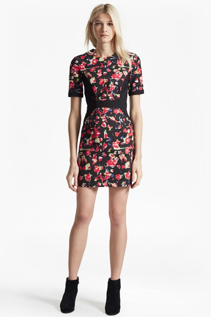 Bella Ottoman Floral Dress