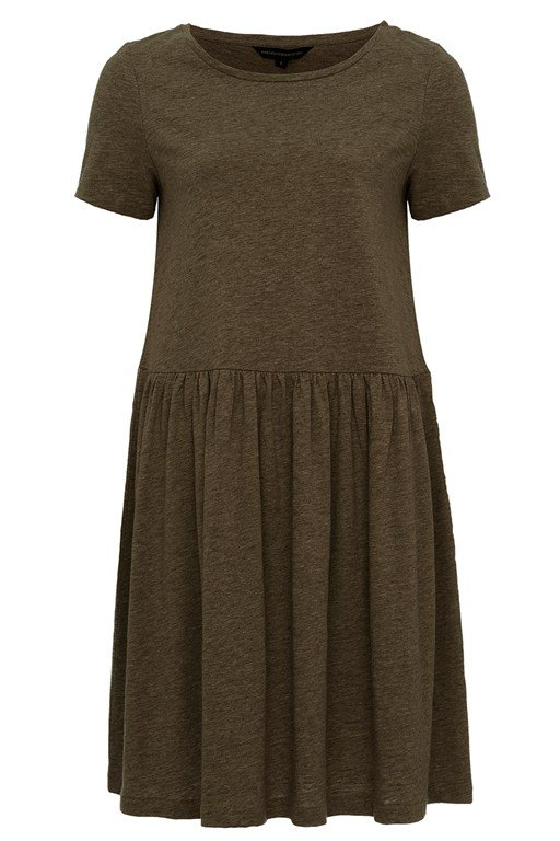Louis Cotton Jersey Flared Dress