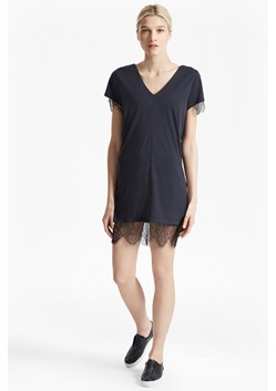 Swift Drape V Neck Tunic Dress