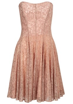 Lucky Lace Strapless Dress