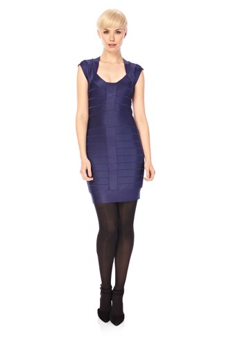Spotlight Knits Cap Sleeve Dress