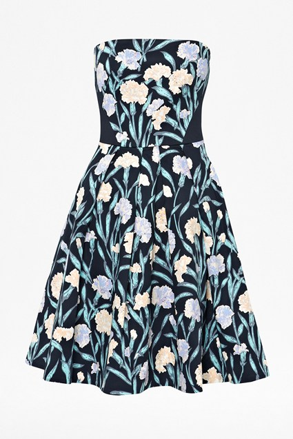 Carnation Strapless Dress
