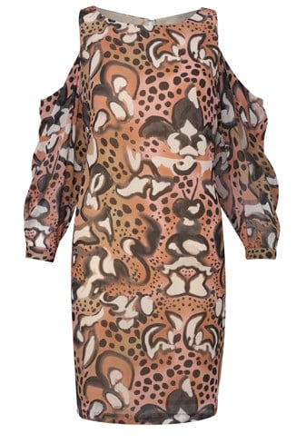 Wild Fire Cut Out Dress
