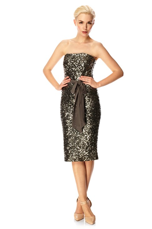 Ozlem Sequins Dress