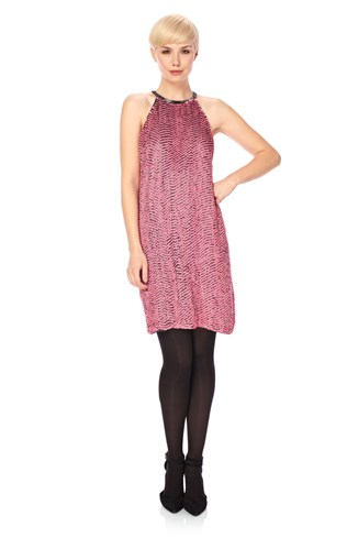 Popstars Halter Dress