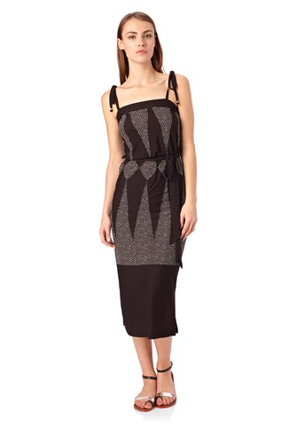 Harlequin Dream Midi Dress