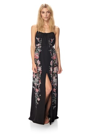 Rio Silk Maxi Dress - Festival Shop - French Connection