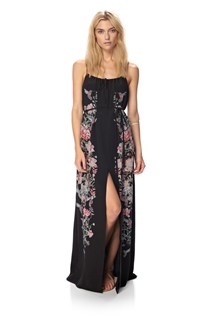 Rio Silk Maxi Dress