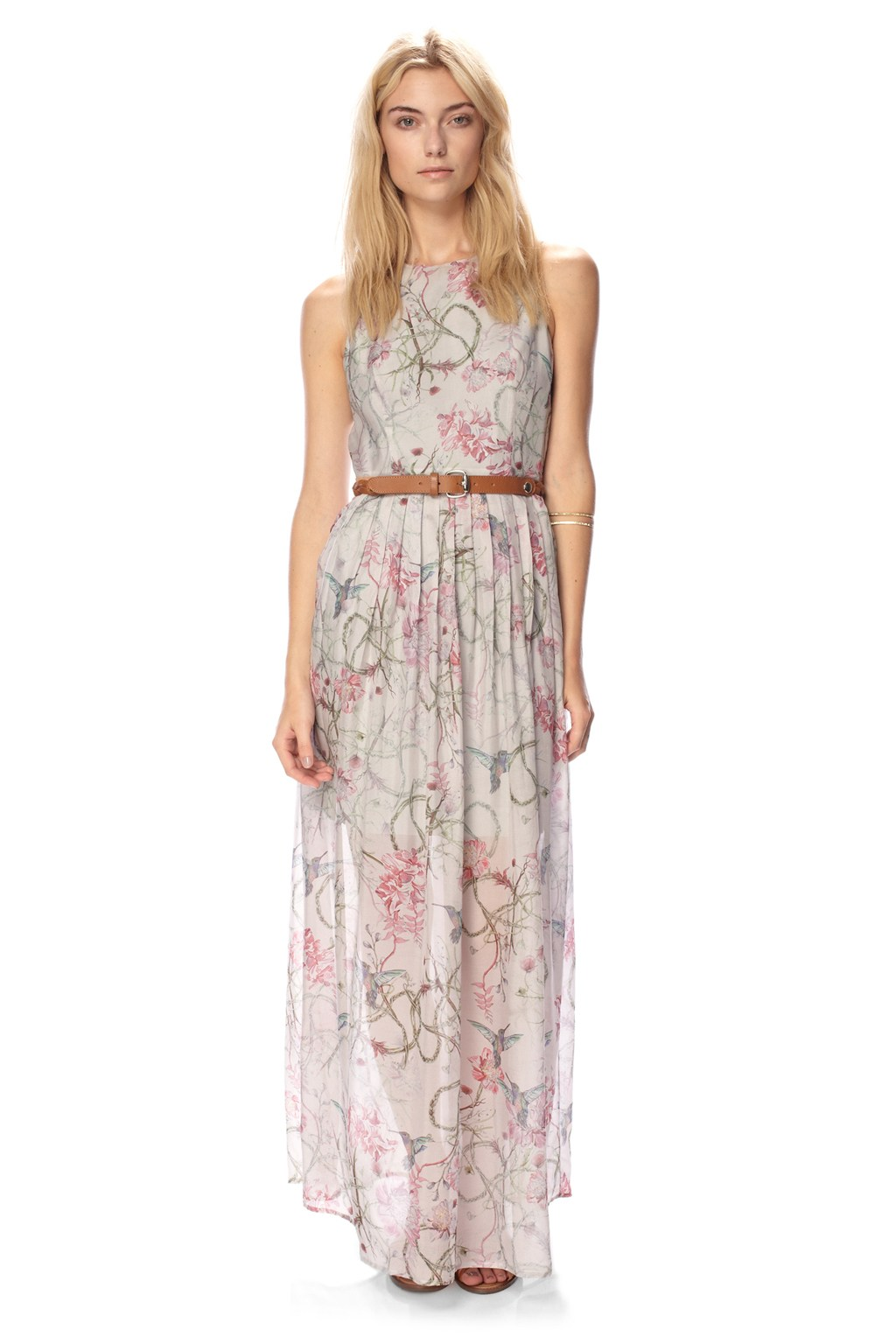 Eden Of Zola Silk Maxi Dress : Dresses : French Connection