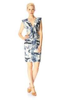 Woodblock Wonder Dress