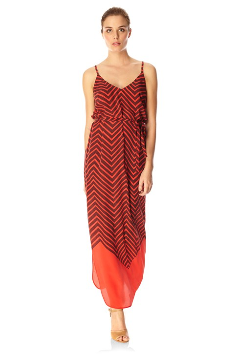 Ziggy Silk Maxi Dress