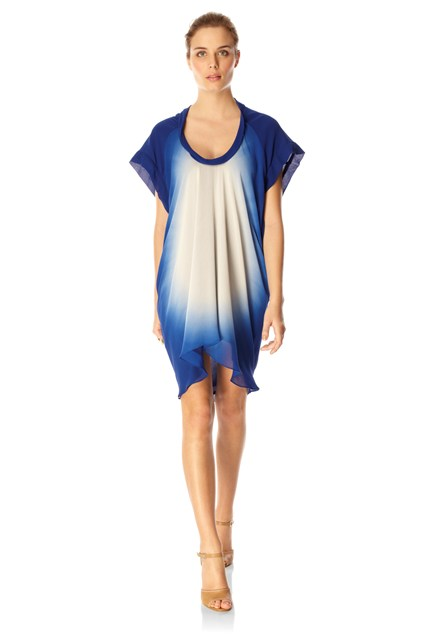 Sun Gaze Scoop Neck Dress