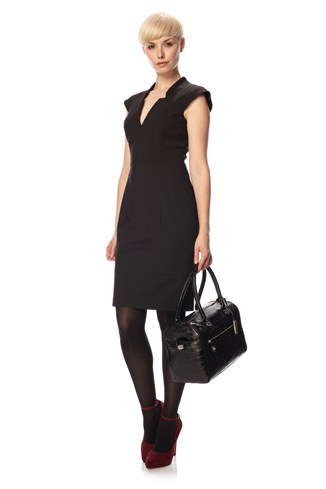 Almondo Cap Sleeve Dress
