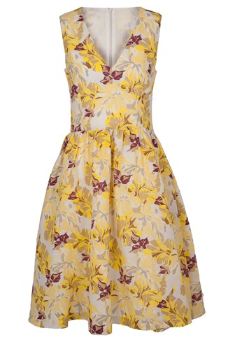 Casablanca Vine Dress