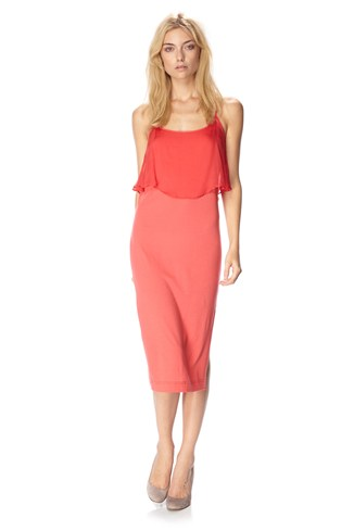 Sula Draped Jersey Dress