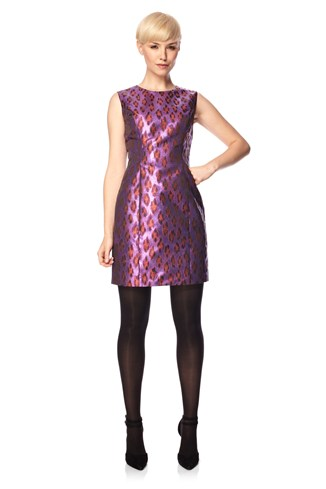 Disco Leopard Dress