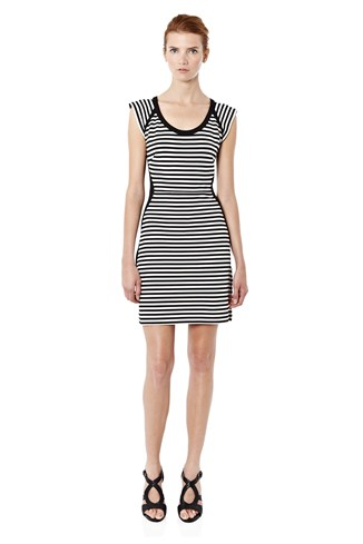 City Stripe Dress