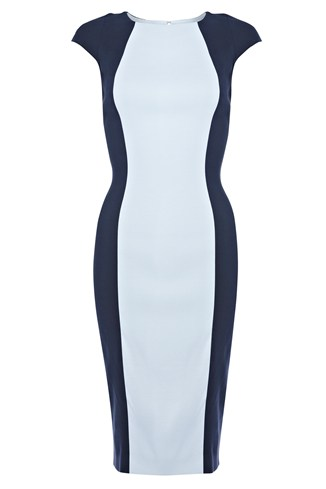 Reign Block Fitted Dress