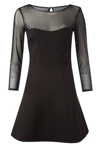 Power Stretch Peplum Dress