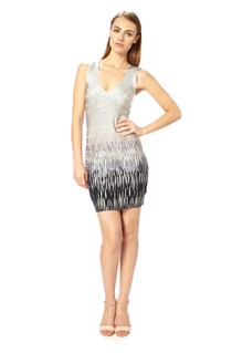 Spotlight Flame Fitted Dress