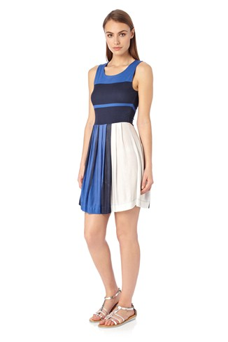 Mia Striped Strappy Dress