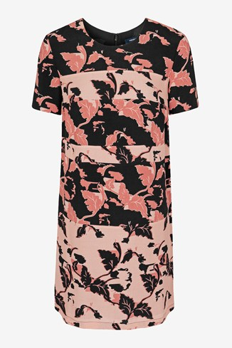 Vine Bloom Tunic Dress