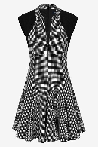 Pop Dot Stretch Dress