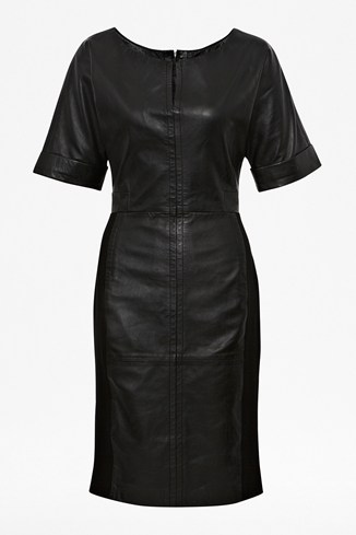 Treasure Leather Stretch Dress
