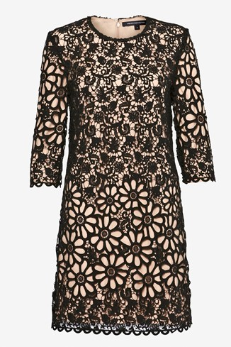 Daisy Chain Lace Shift Dress