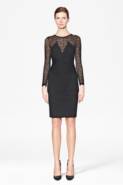 Vienna Lace Fitted Dress