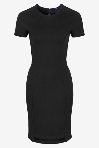 Marie Stretch Round Neck Dress