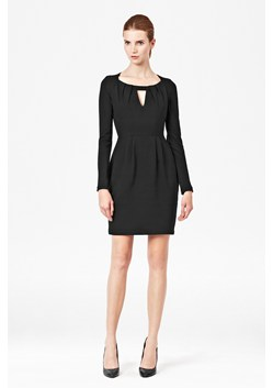 Marie Stretch Long Sleeve Dress
