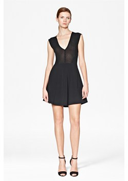 Down Town Dani Cap Sleeve Dress