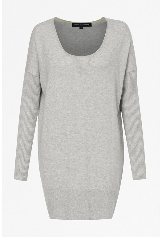 Chopin Knitted Scoop Neck Dress