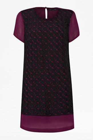 Horse Lace Tunic Dress