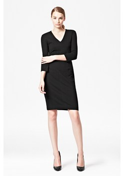 Classic Marie Fitted V-Neck Dress