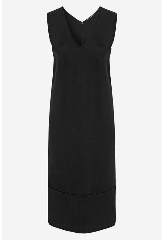 Classic Marie Stretch V-Neck Dress