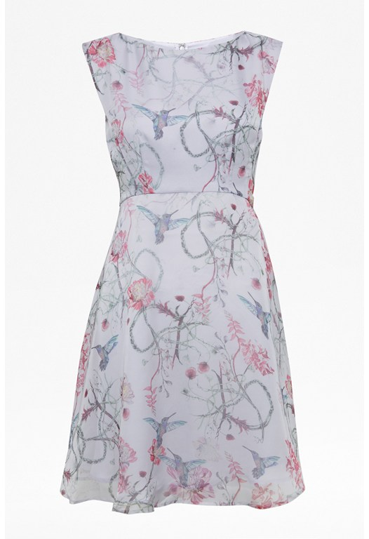 Eden Of Zola Floral Dress