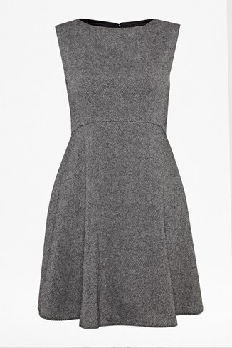 Dee Tweed Flared Dress
