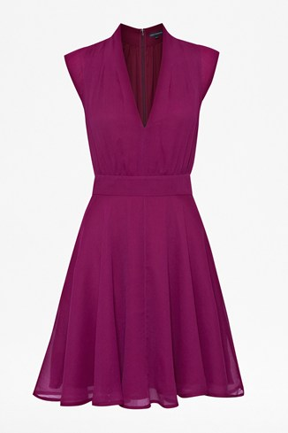 Feline Plains Flared Dress