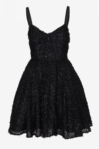 Glitter Whisper Strappy Dress