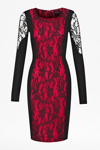 Lavinia Lace Panel Dress